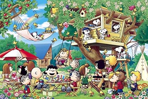 1000 Piece Jigsaw Puzzle Peanuts Tree House (50x75cm)