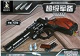 300 Piece Ausini Toy Gun Series Revolver Building Blocks Hot Toy for Boy Assembling Blocks Without Original boxes