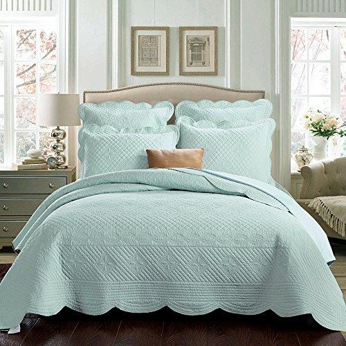 Sage Garden Luxury Pure Cotton Quilt By Calla Angel King