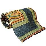 Jaipuri Multicolor Ethnic Cotton Double Bed Dohar 305