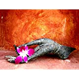 Tallenge - Lotus Hand Position With Flower - A3 Size Rolled Poster