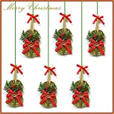 Ginni Bloom Christmas Decoration - Decorated Guitar, 6 pcs