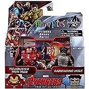 "Marvel Avengers Age Of Ultron Minimates Series 63 Hulkbuster Iron Man & Rampaging Hulk 2"" Minifigure 2-Pack"