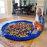 1PC Portable Kid Toy Storage Bag And Play Mat Lego Toy Organizer Bin Box XL Fashion Practical Storage Bag (Size...