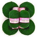 Vardhman Acrylic Knitting Wool, Pack Of 6 (Pack Of 6)