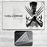 Wolverine Laptop Skin + Silicon Laptop Keyboard Protector Cover Combo For All HP, DELL, ASUS, SONY, SAMSUNG, ACER Laptops Upto 15.6-inch Screen Size. 2mm Rubber Speed Edition Gaming Mouse Pad For All Wireless Gaming, Laser And Optical Mouse.HP, DELL, ASUS