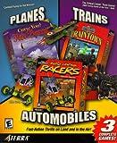 Planes, Trains & Automobiles: Curse You! Red Baron / 3D Ultra Lionel Traintown / 3D Ultra Radio Control Racers - PC