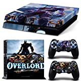 GOOOD PS4 Designer Skin Decal for PlayStation 4 Console System and PS4 Wireless Dualshock Controller - Overlord