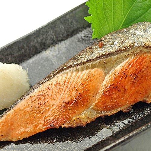 ロシア産 天然銀鮭1枚 70g×3枚入