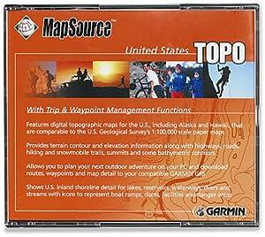 Amazon.com: Garmin MapSource U.S.A. Topographical Map CD