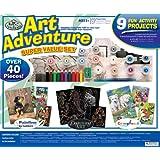 Royal & Langnickel Art Adventure Super Value - 40 Piece White Set