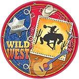 Wild West Dinner Plates 8ct