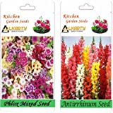 Alkarty Phlox Mixed And Antirrhinum Snapdragons Seed Pack Of 20 (Winter)