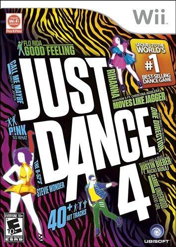 Just Dance 4 - Nintendo Wii $1...
