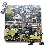 Angelique Cajam India - Fort Gloconda castle views - 10x10 Inch Puzzle (pzl_26794_2)
