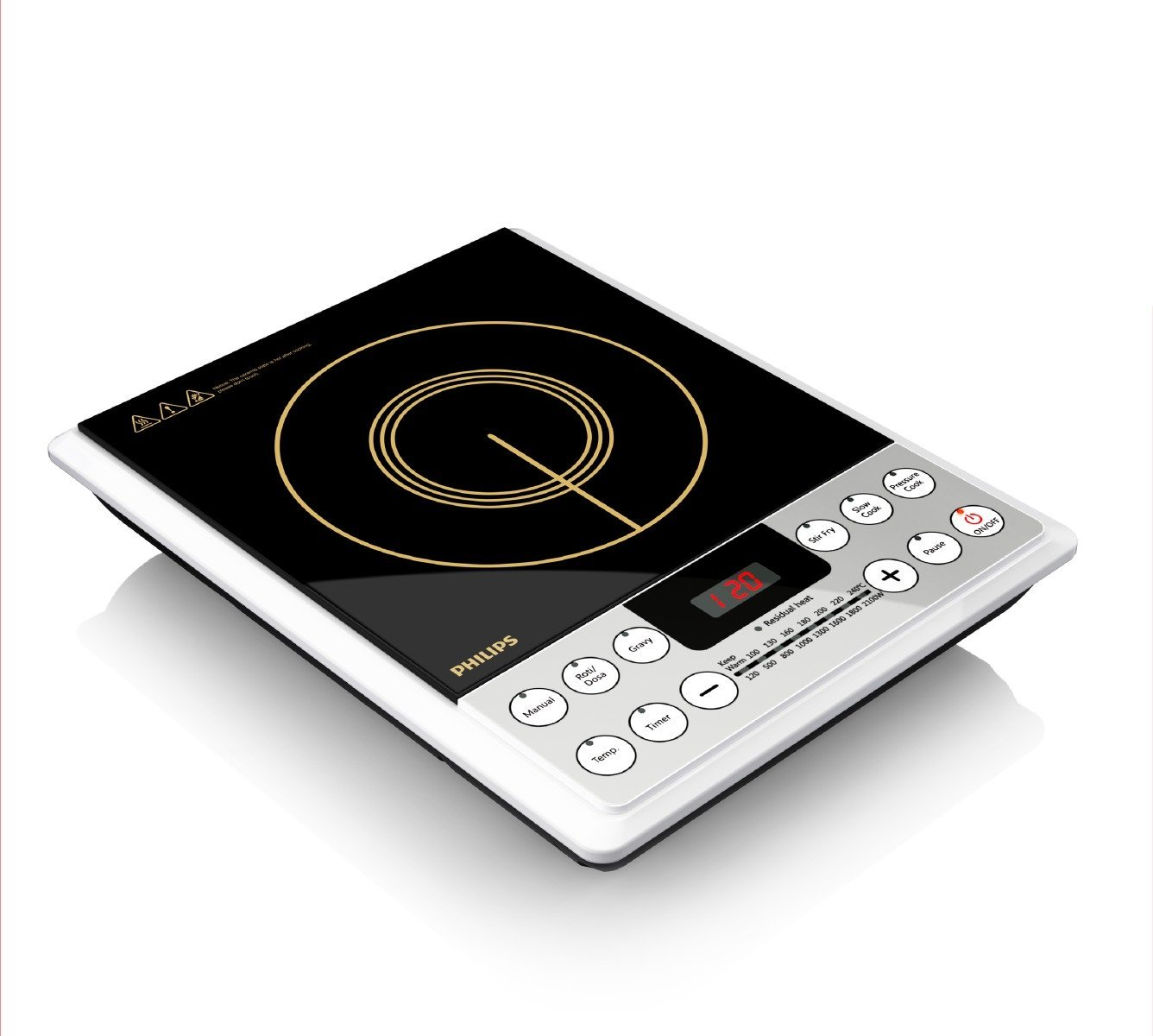 61R6ZSVGSJL._SL1336_ Philips Induction Cook Top HD4929 Rs. 2386 – Amazon