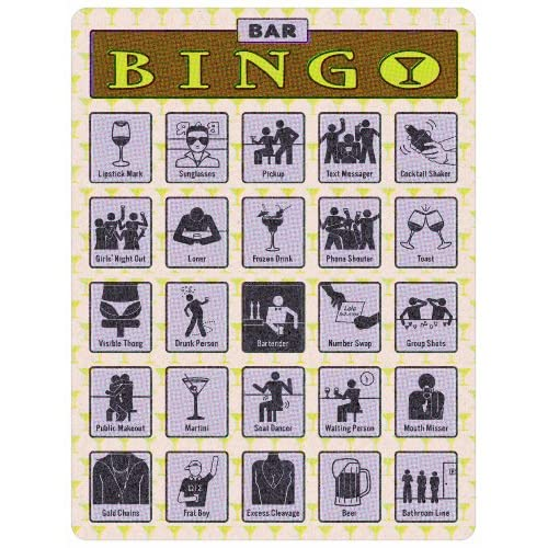Bingo: Bar Knock Knock