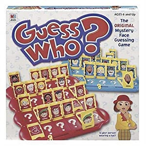 Click to buy Guess Who? Board Game from Amazon!