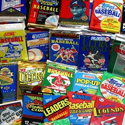 300 Unopened Baseball Cards Collection in Factory