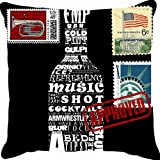 Ambbi Collections Digital Printed Cushion Cover - B00UYRBPU8