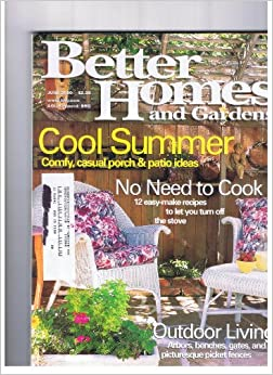 Better Homes and Gardens June 2000 Cool Summer-comfy ... on Porch & Patio Casual Living id=17904