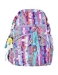 Super Drool Colour Burst Lilac Backpack