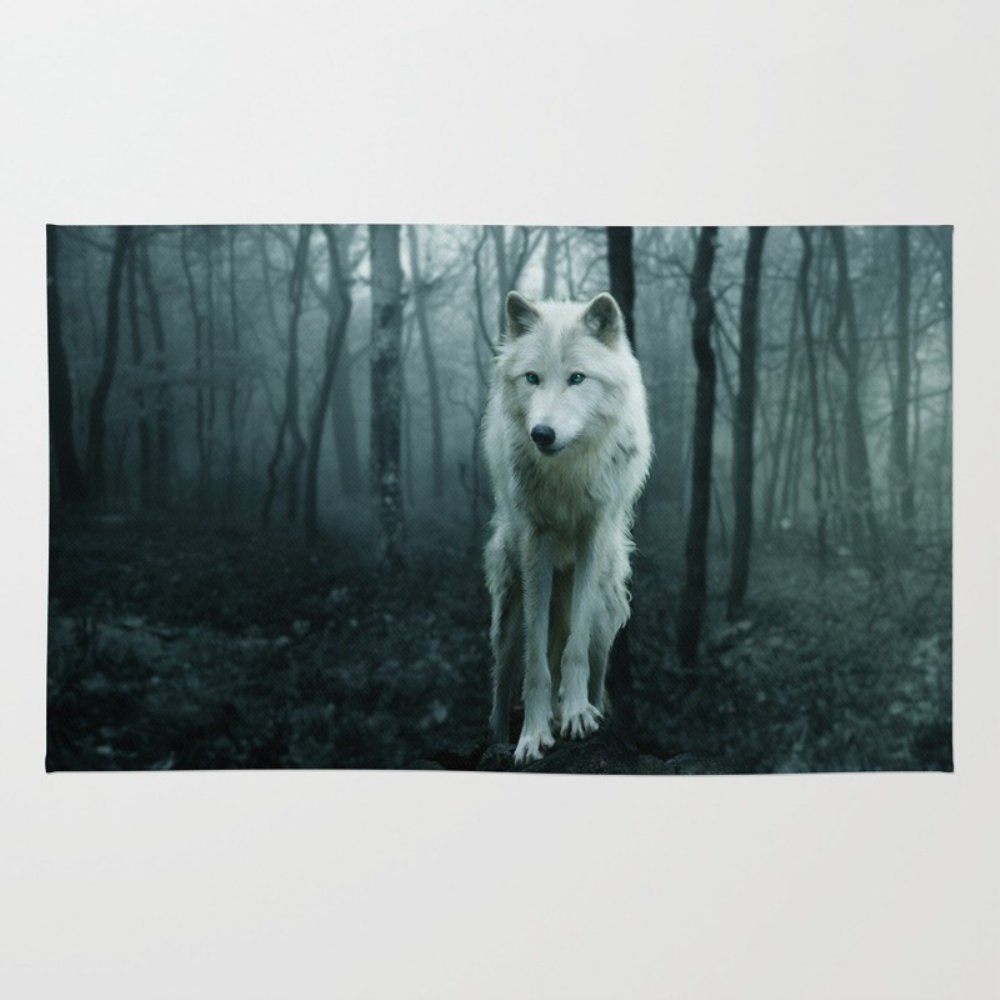 Wolf Area Rugs