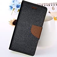 Mercury View Flip Cover(Brown) For Asus Zenfone Max ZC550KL