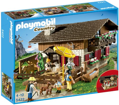 PLAYMOBIL 5422 Alpine Lodge Playset