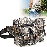 Sports Hiking Fishing Waist Bottle Bag Fanny Pack Men Outdoor Cycling Tackle Bag