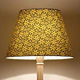 Craftter FLOWER DESIGN GREEN Colour FABRIC FLOOR Lamp Shade (CWFLS-28)