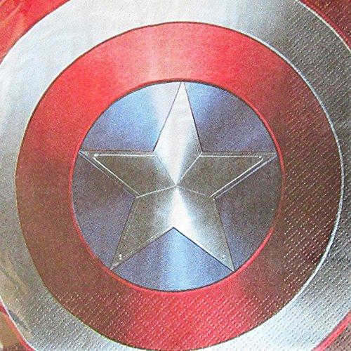 Captain America 'Civil War' Lunch Napkins (125ct)