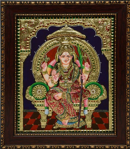 Tanjore Lalitha Devi Painting [Item Code-3382] Best Deals With Price