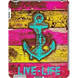 DailyObjects Anchor Marine In Pink Case For IPad 2/3/4