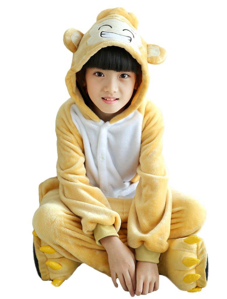 c7e4b3c3aadd Galleon - Ateid Children Kigurumi Onesie Animal Pajamas Hooded Jumpsuit  Nightwear