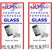 AryaMobi Tempered Glass Screen Guard Protector For Samsung Galaxy Note Edge - Pack Of Two