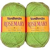 Vardhman Acrylic & Nylon Rosemary Green (200 Gm) Pack Of 2 (200 Gm)