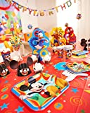 Mickey Mouse Clubhouse Plastic Table Cover, 54 in x 96 in, Party Supplies