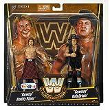 Mattel WWE Wrestling Exclusive True Legends Elite Action Figure 2Pack Rowdy Roddy Piper Cowboy Bob Orton
