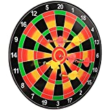 Arshiner Kids Safety Magnetic Dart Board Set With 6pcs Flexible Toys