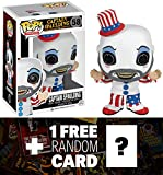Captain Spaulding: Funko POP! Horror Movies x House of 1000 Corpses Vinyl Figure + 1 FREE Classic Sci-fi & Horror Movies Trading Card Bundle [33648]