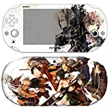 Skin Decal Sticker For Ps Vita 2000 Series Pop Skin-God Eater #02+Screen Protector+Offer Wallpaper Image
