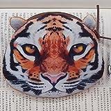 Gossipgirl 3D tiger zipper coin purse 3D Lion purse-tiger