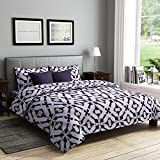 RAGO RELISH ABSTRACT PRINT BROWN AND WHITE Double Bedsheet Set