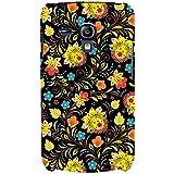 For Samsung Galaxy S3 Mini I8190 :: Samsung I8190 Galaxy S III Mini :: Samsung I8190N Galaxy S III Mini Floral Pattern ( Flower, Floral Design, Black Background, Pattern ) Printed Designer Back Case Cover By FashionCops