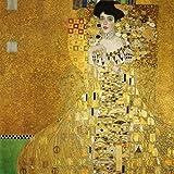 Matterden 'Portrait Of Adele Bloch Bauer By Gustav Klimt' Poster (Fine Art Paper, 46 Cm X 46 Cm)