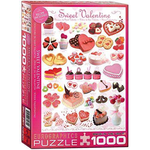 EuroGraphics Sweet Valentines 1000 Piece Puzzle