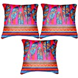 """Belkado Abstract Design No 4 Cushion Cover Throw Pillow ( Multi Color, 12""""x12"""" ) - B00TPELSMG"""