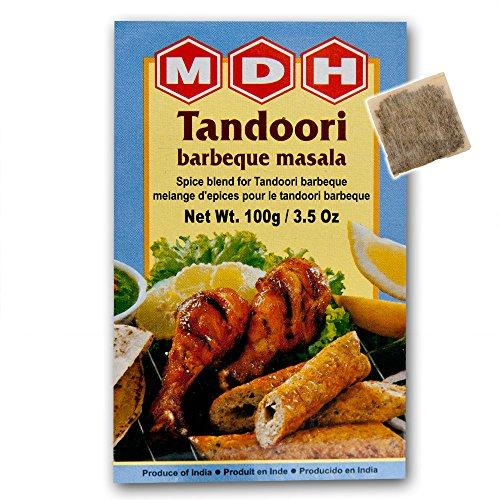 MDH タンドリーバーベキューマサラ 100g 10箱 Tandoori barbeque masala 業務用 スパイス ハーブ 香辛料 調味料 ミックススパイス