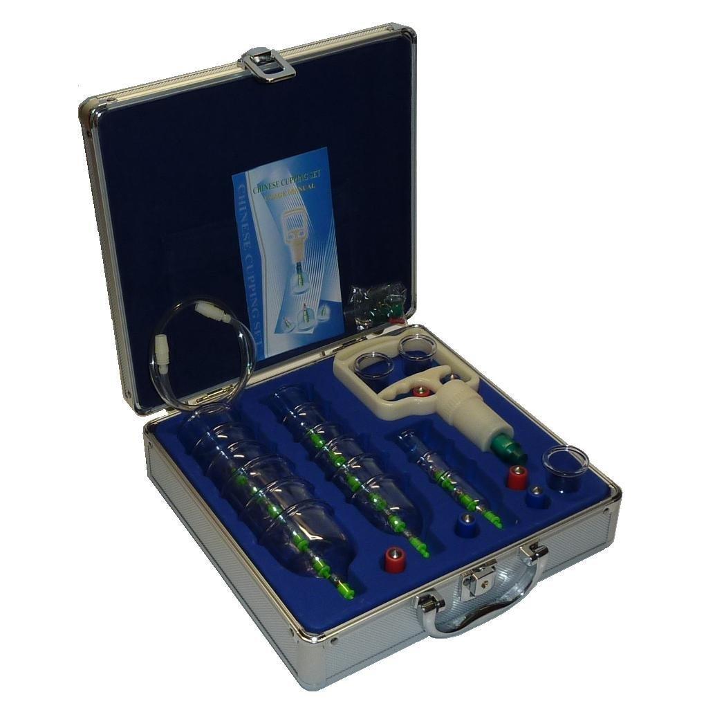 Schröpfen Set Vakuum Massage mit Schröpfgläser M015